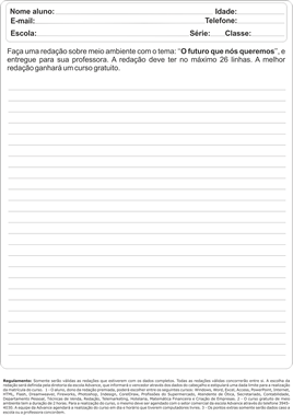 Modelo Panfleto 15x21- Verso